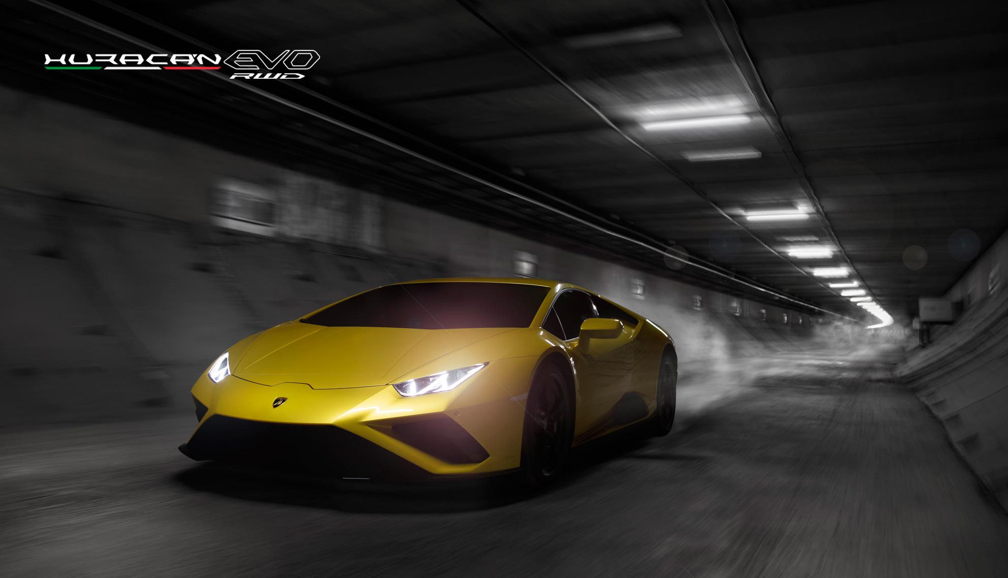 Lamborghini Huracan EVO RWD à propulsion