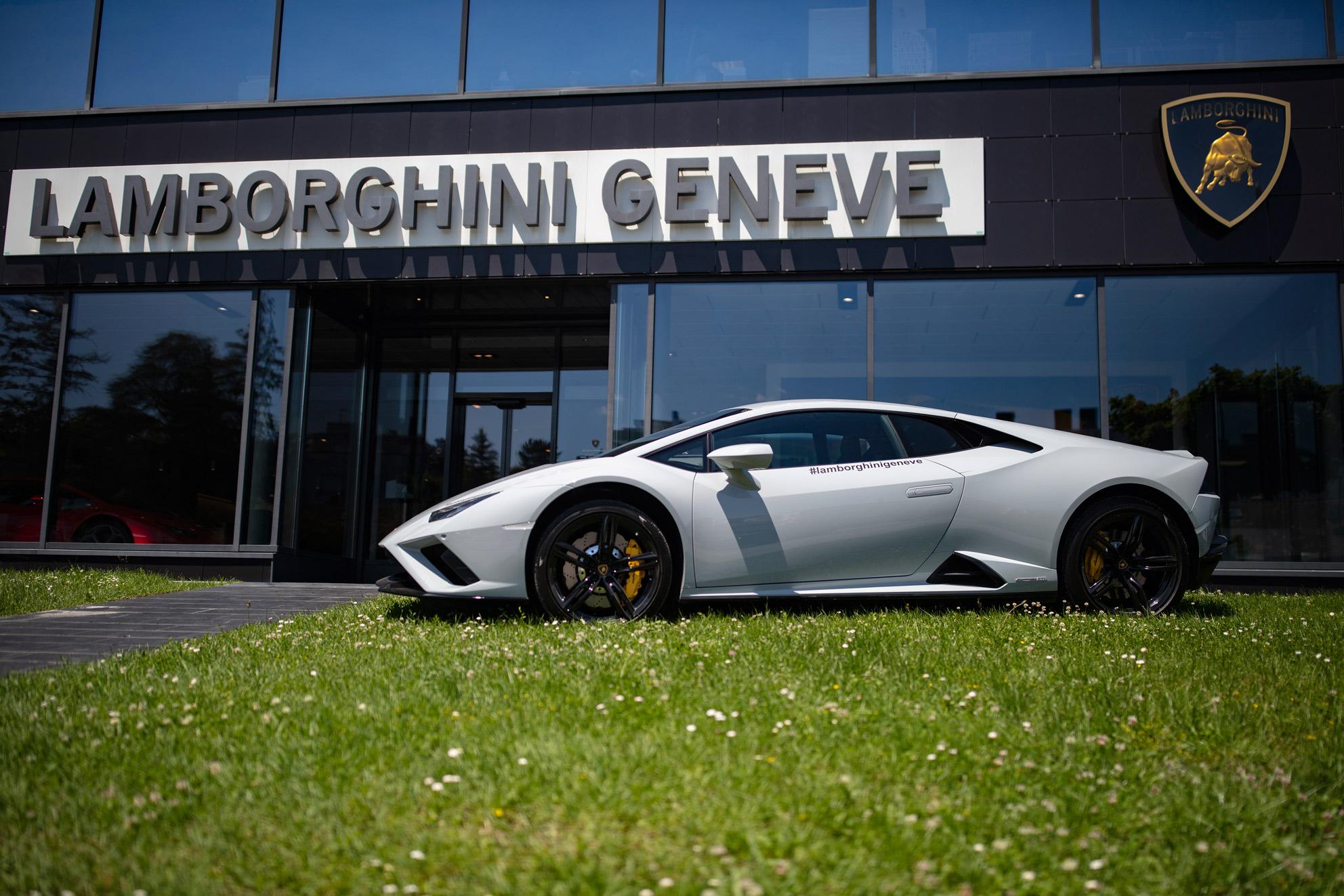 Informations Lamborghini Genève