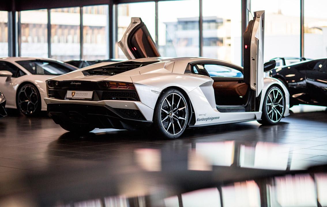 Réouverture du showroom de Lamborghini Genève