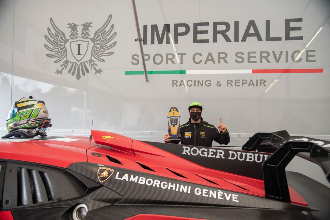 Alberto Di Folco, champion à Monza