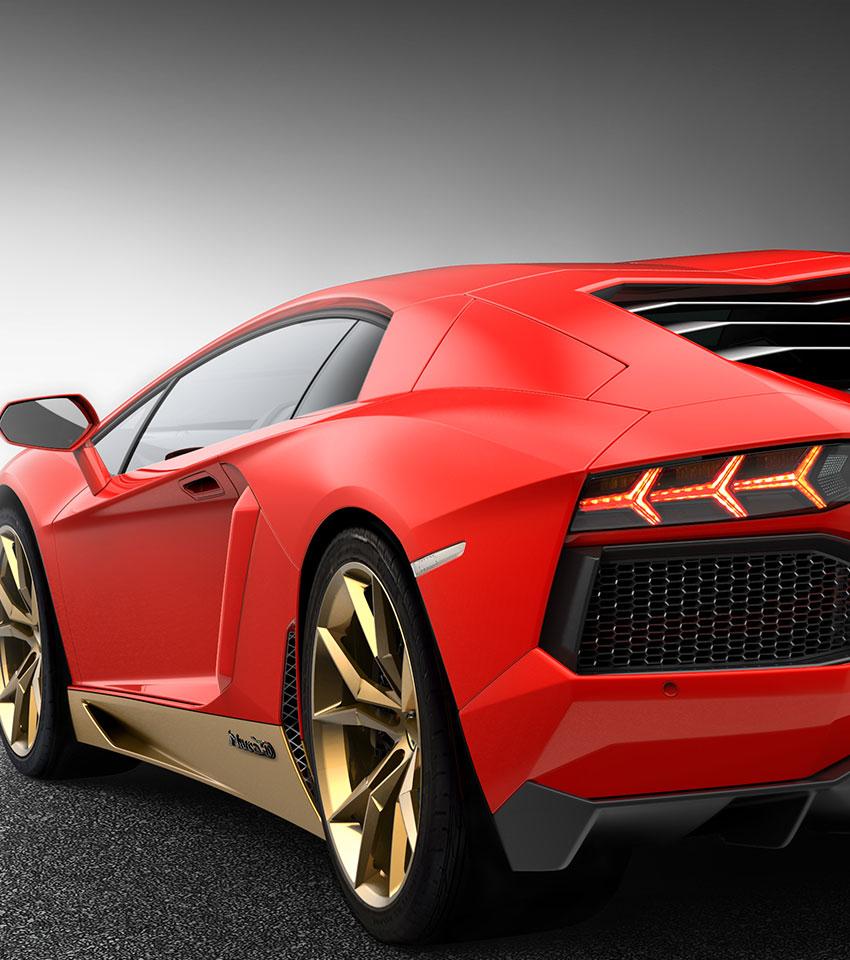Aventador Miura Homage Lamborghini Geneva